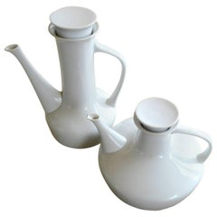 Two Teapots or Pitchers by Paul McCobb