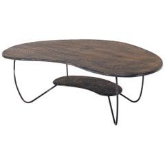 Two-Tier Kidney Shape Coffee Table