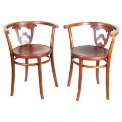 Two Thonet Armchairs, circa 1920
