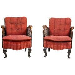 2 Thonet-Sessel aus den 1920er Jahren