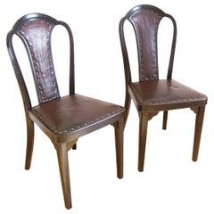 Two Thonet Chair Nr.918, Gustav Siegel in 1928