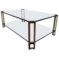 Two-Tier Coffee Table by Peter Ghyczy, 1970s