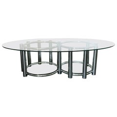 Two-Tier Oval Table FINAL CLEARANCE SALE