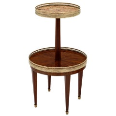 Two-Tiered Louis XVI Style Side Table