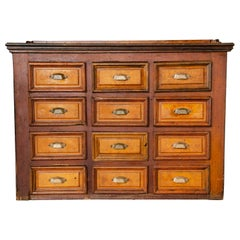 Two-Tone Apothecary Cabinet