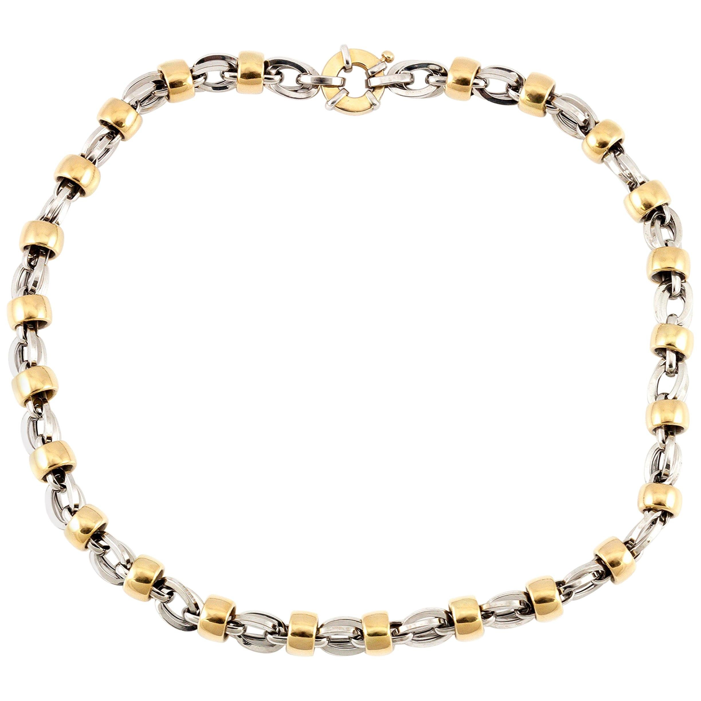 Two-Tone Gold Necklace