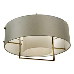 Two-Tone Pendant Lamp from J.T. Kalmar from the 1960s
