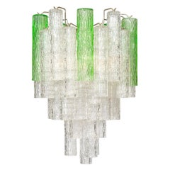 Two-Toned Murano Glass Vintage Chandelier
