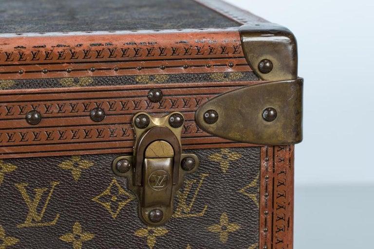 Two Vintage Louis Vuitton Trunks For Sale 4