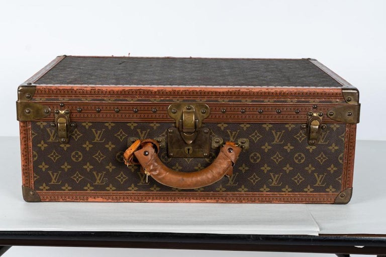 20th Century Two Vintage Louis Vuitton Trunks For Sale