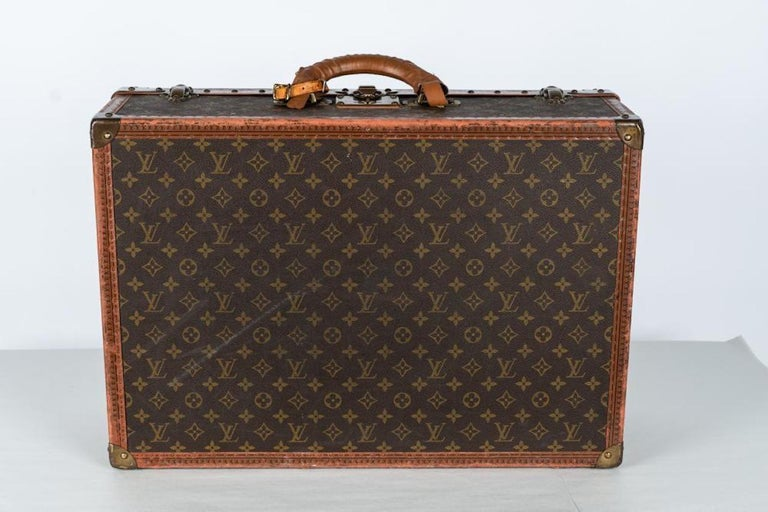 Two Vintage Louis Vuitton Trunks For Sale 1