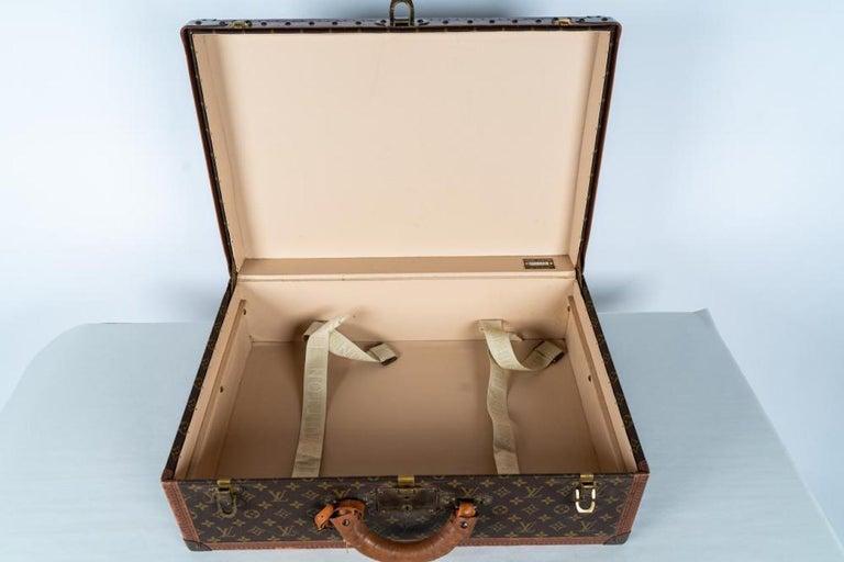 Two Vintage Louis Vuitton Trunks For Sale 2