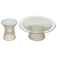 Two Warren Platner Tables
