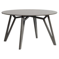 TXT M- 21st Century Modern Quartz Stone Coffee and Side Table in Graphite