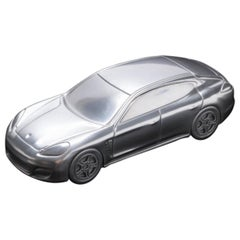 Tycoon's Silver Porsche-Panamera Turbo-Limited Edition Model