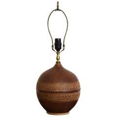 Tygart Studio Pottery Table Lamp