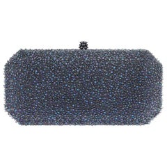 TYLER ELLIS Perry Clutch Large Iridescent Bubble Swarovski Crystal