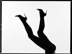 Legs Up Silhouette