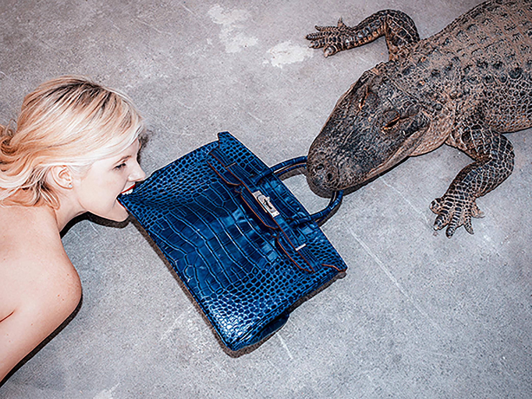 Tyler Shields, 'Gator Birkin III' 2012