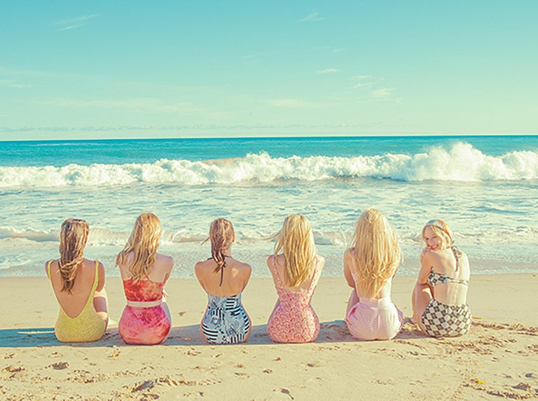 Tyler Shields, 'Girls at the Beach' 2017 - Photograph by Tyler Shields