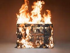 Tyler Shields, 'Louis Vuitton on Fire'