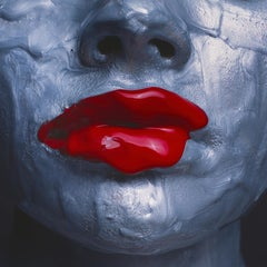 Tyler Shields, 'Red Lips' 2018 (dye transfer)