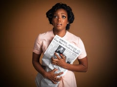 Tyler Shields, 'Woman Reacts to the Death of MLK'