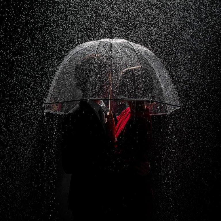Tyler Shields Color Photograph - Under The Rain