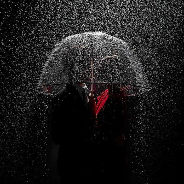 Tyler Shields Portrait Photograph - Under the Rain, Photography, Story teller, Hollywood, Rain