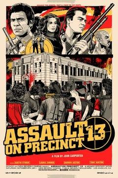 Tyler Stout - Assault on Precinct 13 - Contemporary Cinema Movie Film Posters