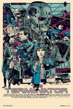 Tyler Stout - Terminator Artist Ed. - Contemporary Cinema Movie Film Posters