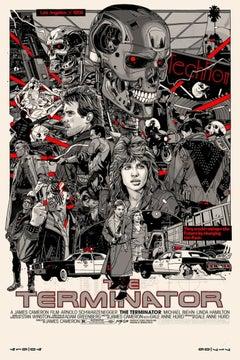 Tyler Stout - Terminator - Contemporary Cinema Movie Posters
