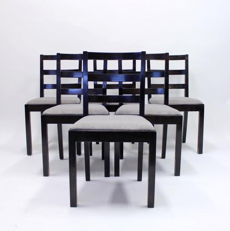 Swedish Typenko Chairs by Axel Einar Hjorth for Nordiska Kompaniet, 1930s, Set of 6 For Sale