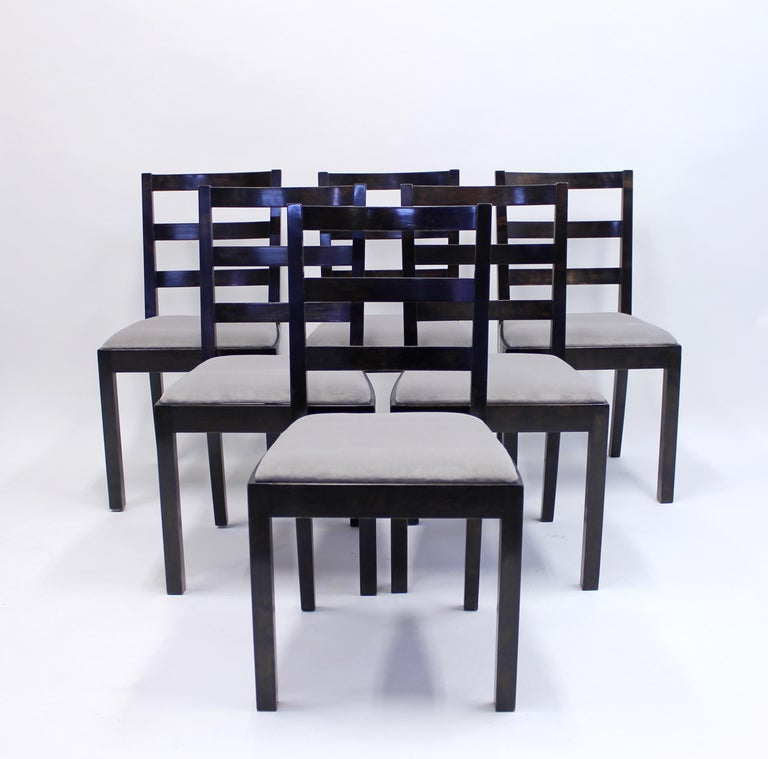 Typenko Chairs by Axel Einar Hjorth for Nordiska Kompaniet, 1930s, Set of 6 In Good Condition For Sale In Uppsala, SE