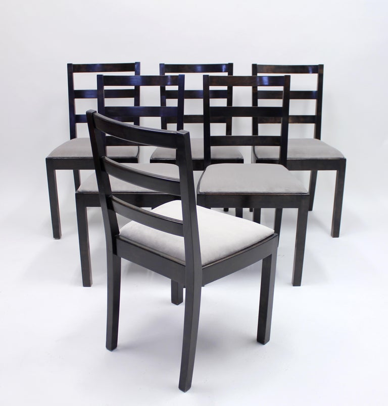 Mid-20th Century Typenko Chairs by Axel Einar Hjorth for Nordiska Kompaniet, 1930s, Set of 6 For Sale