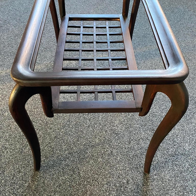 Typical Midcentury Paolo Buffa Style Occasional or Side Table, Italy, 1950s For Sale 4