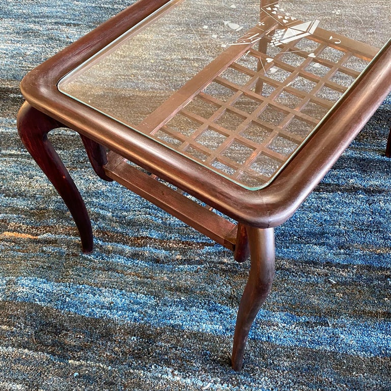 Italian Typical Midcentury Paolo Buffa Style Occasional or Side Table, Italy, 1950s For Sale