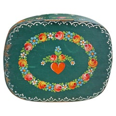 Tyrolean Painted Box