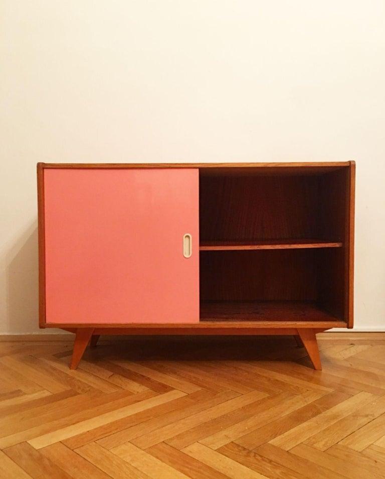 Czech U-452 Cabinet by Jiri Jiroutek for Interier Praha, 1960s For Sale