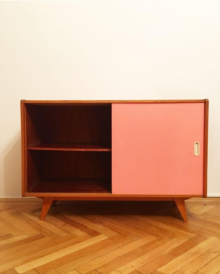 Mid-20th Century U-452 Cabinet by Jiri Jiroutek for Interier Praha, 1960s For Sale