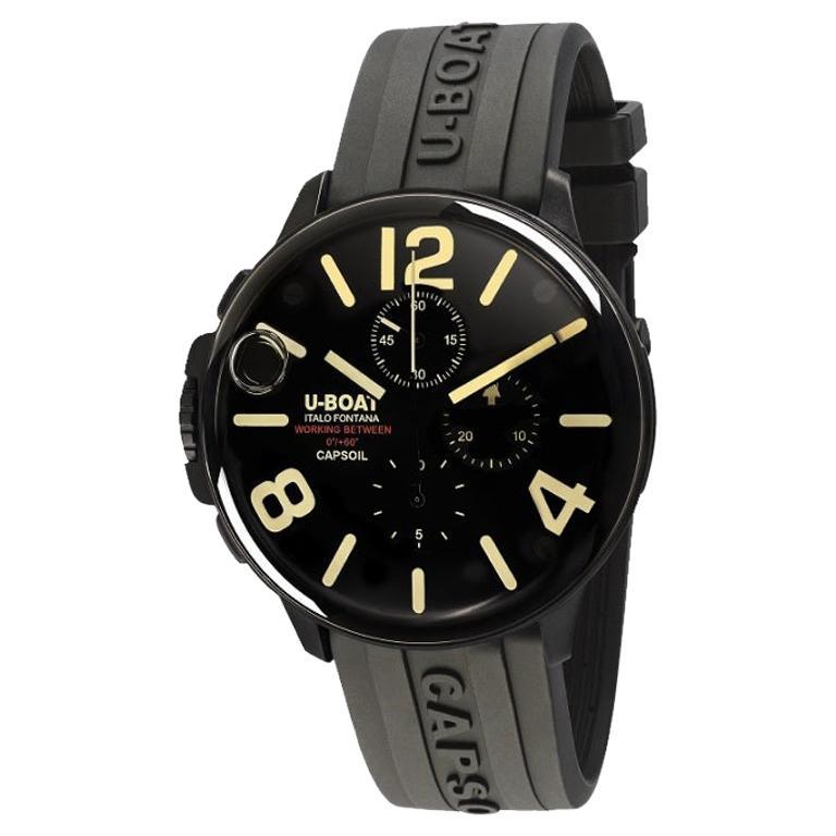 U-Boat Capsoil Chronograph DLC Men's Watch 8109/C