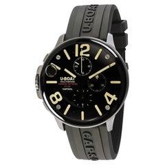 U-Boat Capsoil Chronograph Stainless Steel Men's Watch 8111/C