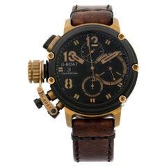 U-Boat Chimera B&B LTD Edition PVD Steel Bronze Black Dial Men's Watch 8015