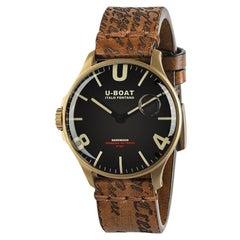 U-Boat Darkmoon IP Bronze Men's Watch 8467