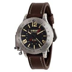 U-Boat U-42 50 GMT Titanium Limited Edition Watch 8095