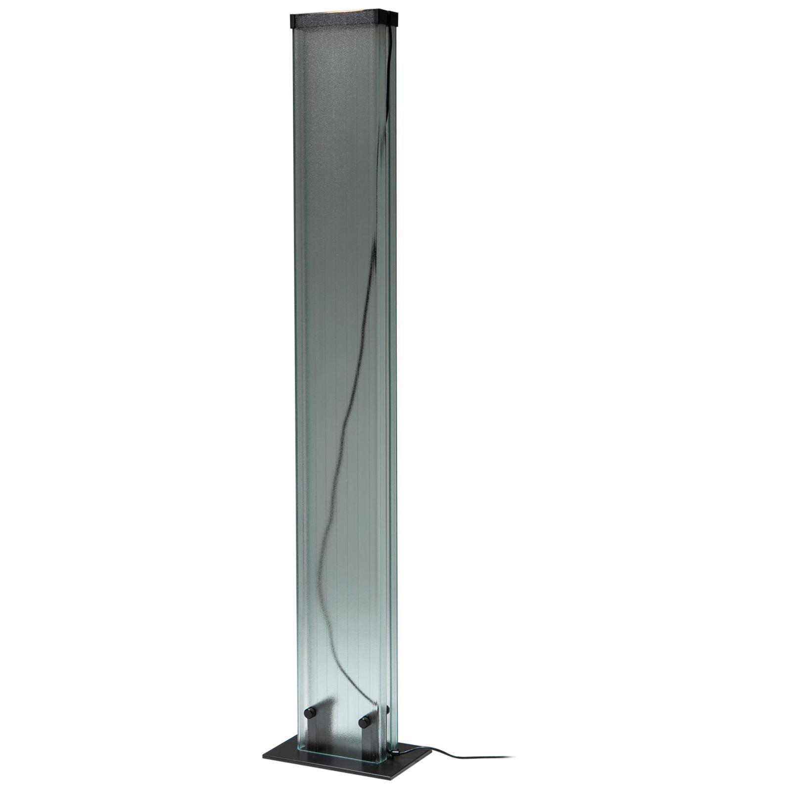 U-Glass Floor Lamp by Stilnovo