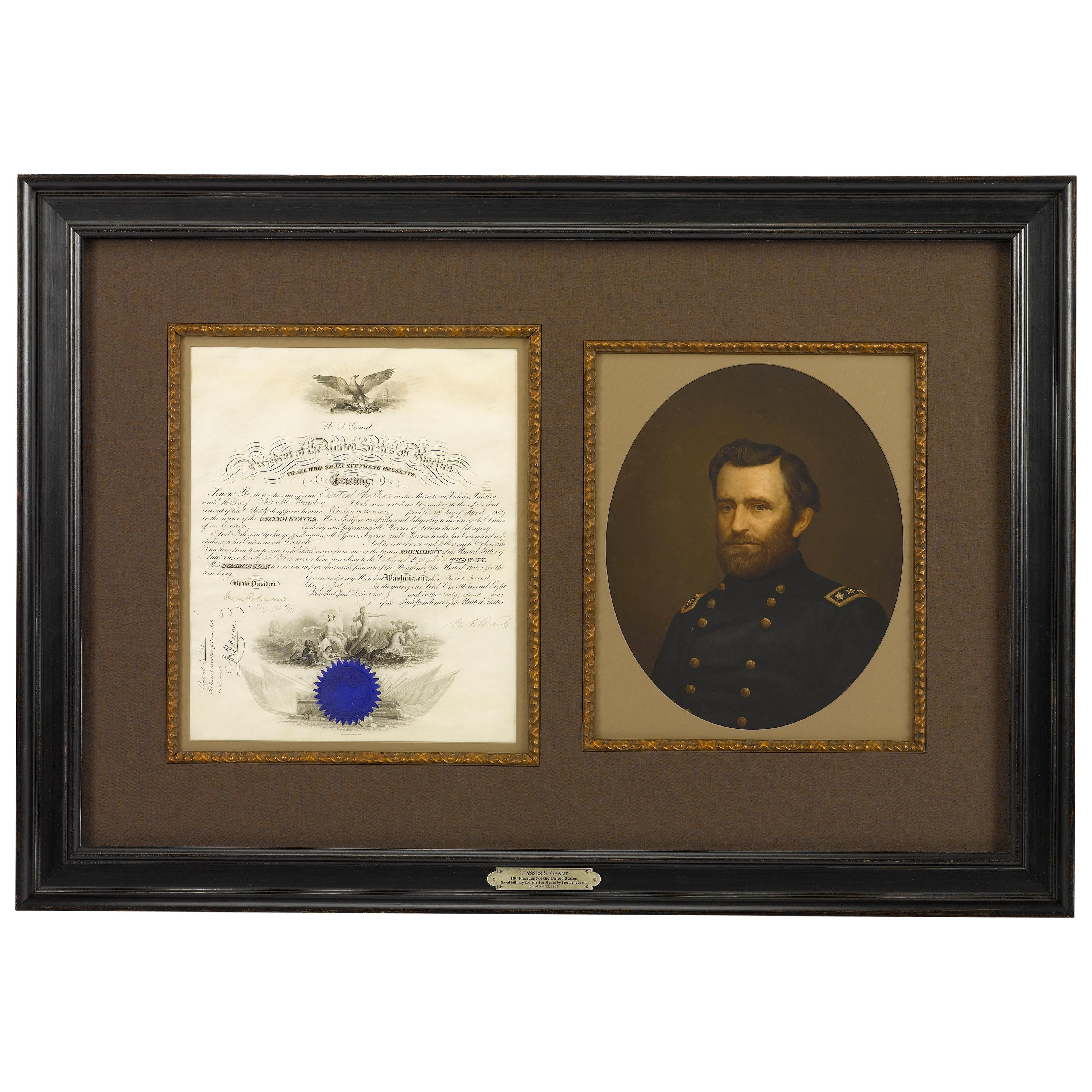U. S. Grant Presidential Appointment, Signed July 22, 1869