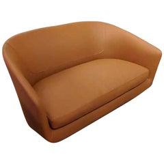 U Sofa in Leather, by Niels Bendtsen, from Bensen
