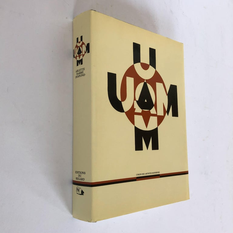 Massive 575-page monograph by Arlene Barre-Despond on the work of members of UAM, including architecture, furniture, and decorative arts. Features work by luminaries such as Pierre Chareau, Eileen Gray, Rene Herbst, Le Corbusier, Robert