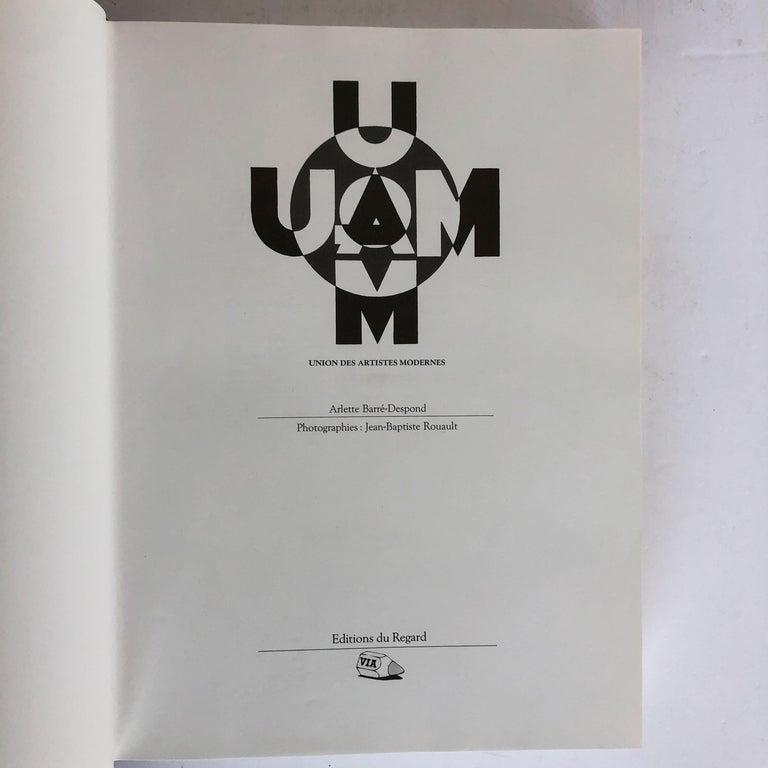 Mid-Century Modern UAM Union des Arts Modernes Monograph For Sale